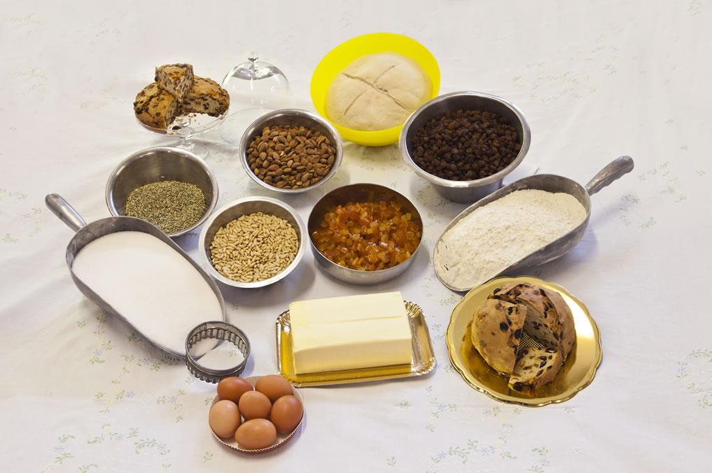 pasticceria Galletti - ingredienti