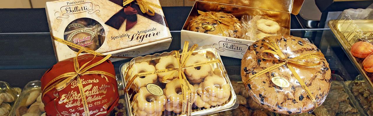 pasticceria Galletti - prodotti forno